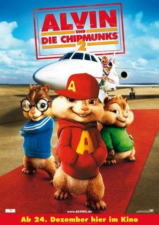 Постер к фильму Элвин и бурундуки 2