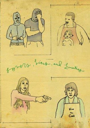 Любовники, вруны и психи