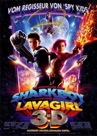 Постер к фильму Приключения Шаркбоя и Лавы