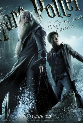 Постер к фильму Гарри Поттер и Принц-полукровка