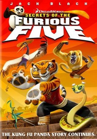 Постер к фильму Кунг-фу Панда: Секреты неистовой пятерки